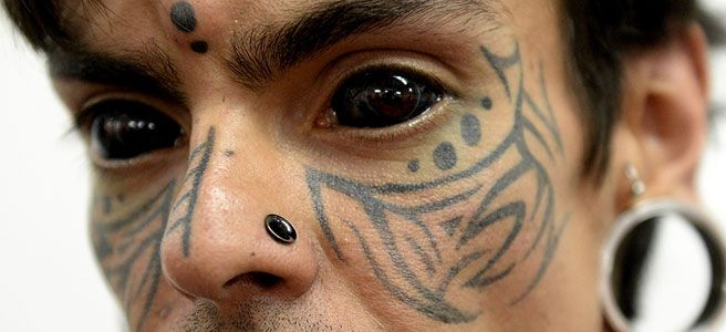 eyeball tattoos